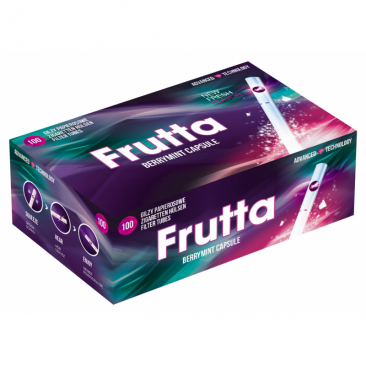 Frutta Click Tubes Berry Mint Filtertubes With Aroma