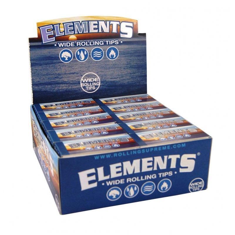 elements breite filter tips wide king size filtertips. Black Bedroom Furniture Sets. Home Design Ideas