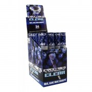 1 Box Cyclones CLEAR Blueberry Cones Transparent Vorgerollt