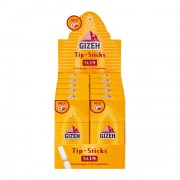 Gizeh Filter Sticks Slim 6mm Durchmesser Tip Sticks 1 Box...