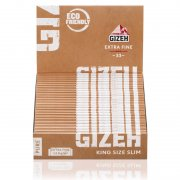 Gizeh Pure King Size Slim Blättchen Bio Hanf Longpapers 3...