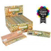 Greengo King Size Slim Ungebleichte Blättchen 1 Box (50...