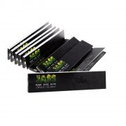 Jass Papers Black Edition King Size Slim Blättchen 1 Box...