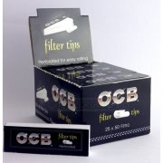 OCB Filter Tips Perforiert Slim Filtertips 1 Box (25...