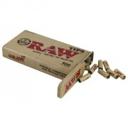 RAW Prerolled Tips Metal Tin 100 vorgerollte Tips in...