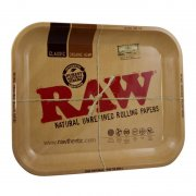 RAW Tray Large Drehtablett 34x27,5cm aus Metall 1x Tray...
