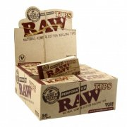 RAW Wide breite Tips King Size Hanf perforiert...