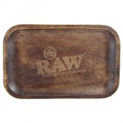 RAW Wooden Tray Drehtablett aus Holz small 1 Tray