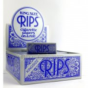 RIPS Blau Extra Breite Classic King Size Rolls Blue 5 m 1...