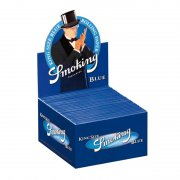 Smoking Blue Blau King Size Papers Blättchen 20 Booklets