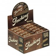 Smoking Brown Filtertips 50er Medium Size perforiert...