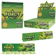 1 Box (24x) Juicy Jays King Size flavoured Papers Green...