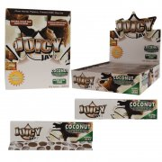 1 Box (24x) Juicy Jays King Size flavoured Papers Coconut