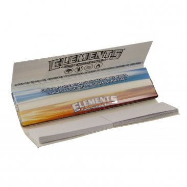 Elements Connoisseur Papers slim inklusive Tips included Rolling Paper