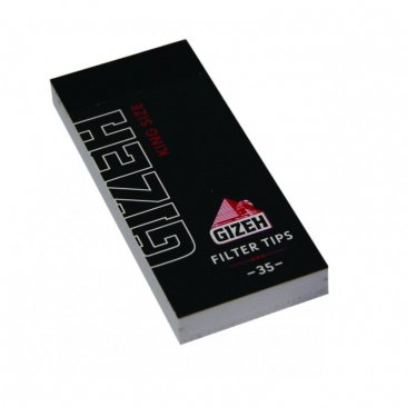 Gizeh Black Filter Tips regular King Size Wide breite Tips
