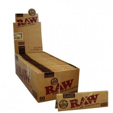 RAW Classic Regular Single Window kurze Blättchen Short Papers