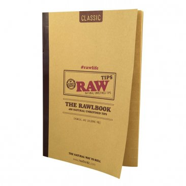 RAW The RAWLBOOK 480 Classic Tips pro Heft ungebleicht