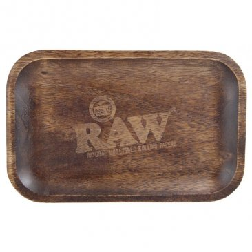 RAW Wooden Tray Drehtablett aus Holz small