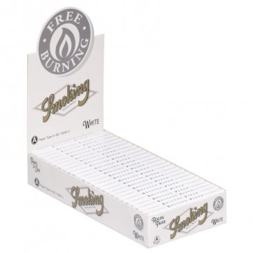 Smoking White Regular kurzes Zigarettenpapier
