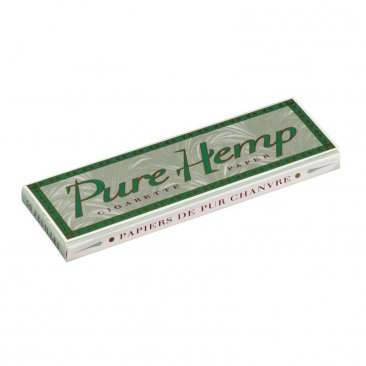 Pure Hemp Single Wide Papers Blättchen regular Tree Free