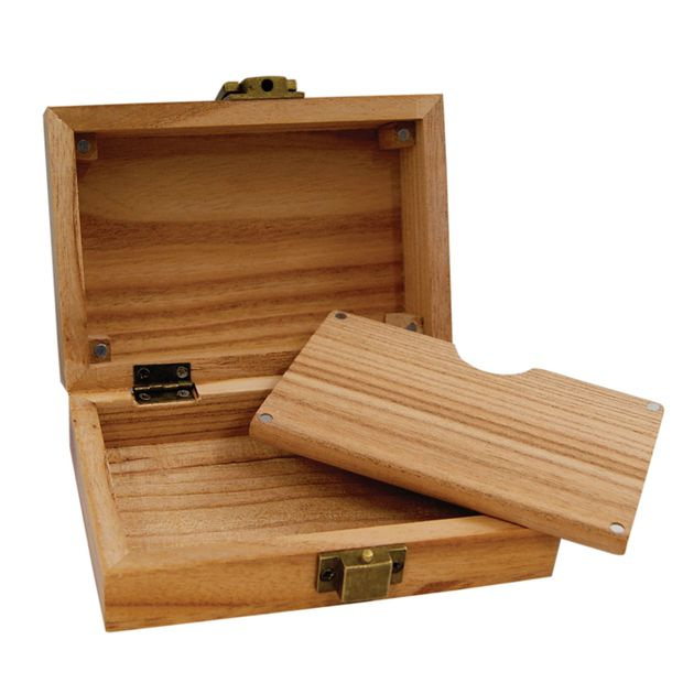 RAW Wood Gift Box Smokerbox Wooden Box Case