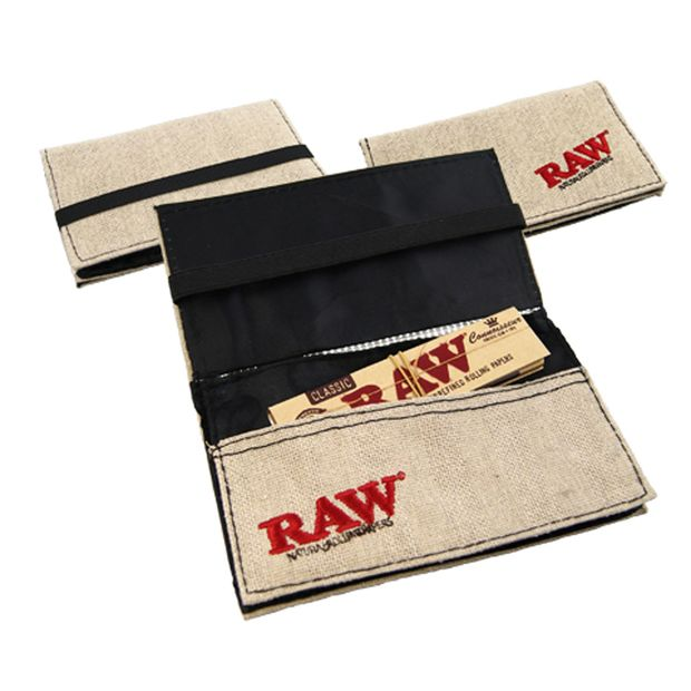 RAW Smokers Wallet for Tobacco and Papers Accessory