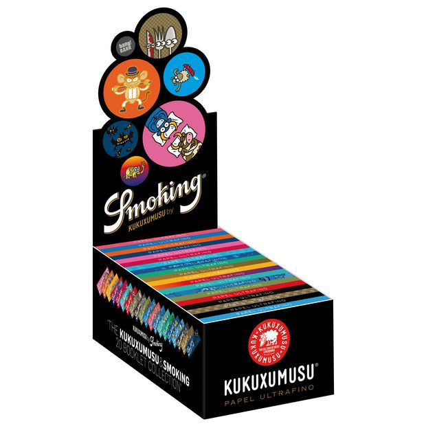 Smoking Kukuxumusu 1 1/4 Medium Size Cigarette Rolling Papers