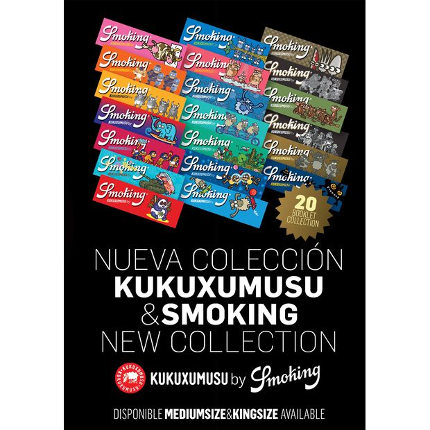 Smoking Kukuxumusu 1 1/4 Medium Size Zigarettenpapier Papers Blättchen