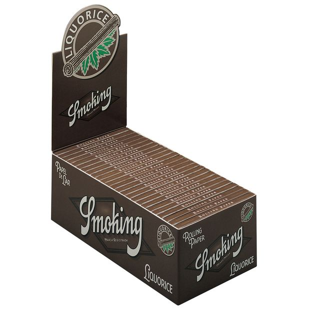 Smoking Liquorice cigarette paper single wide