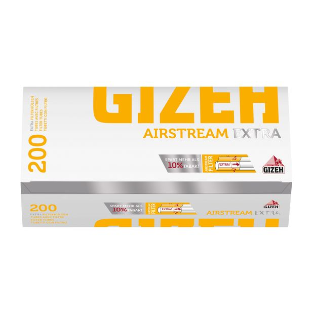 Gizeh Airstream Extra filter tubes cigarette tubes extra long