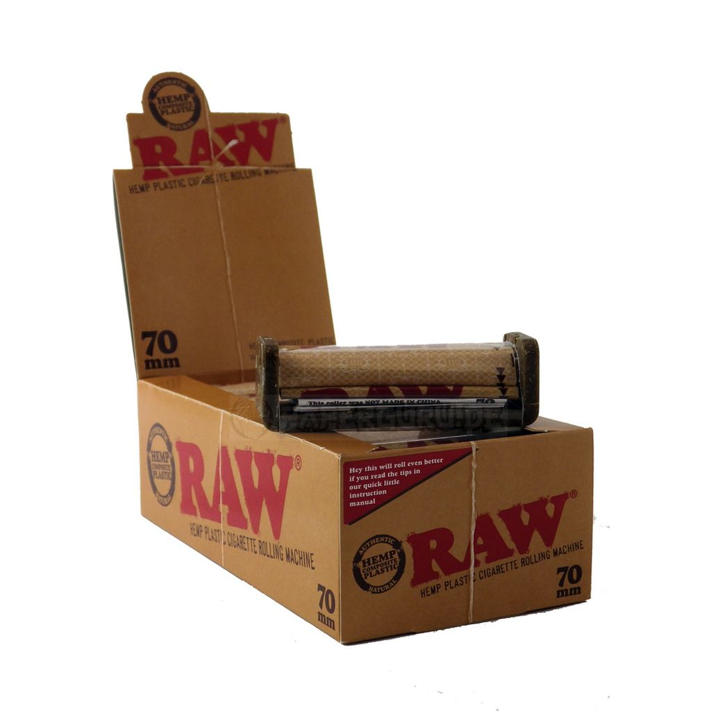 how to use raw cigarette roller