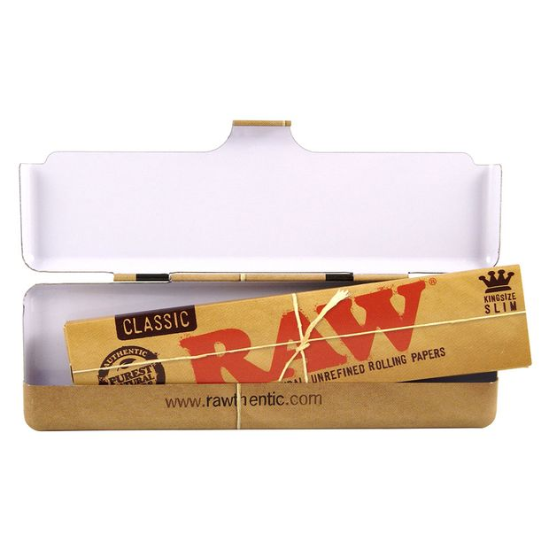 RAW Metalletui 110mm Paper Tin für Longpapers
