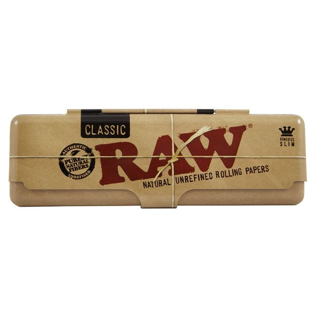RAW Paper Tin 110mm Metal case for Longpapers