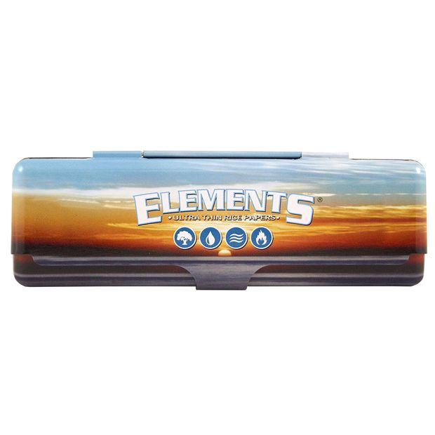 Elements Paper Tin 110mm Metal Case for Longpapers