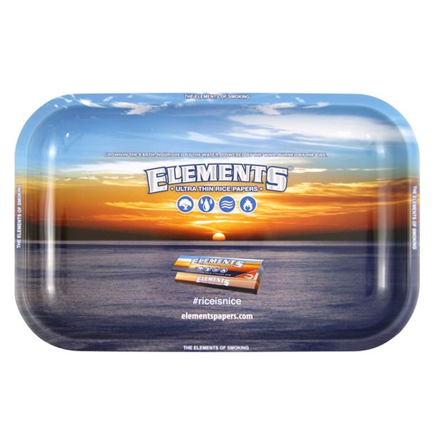 Elements Tray Small Rolling Tray 27,5x17,5cm Metal
