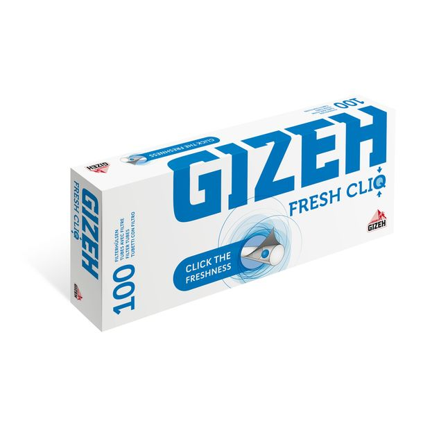 Gizeh Fresh CliQ Filter Tubes with Aroma Capsule