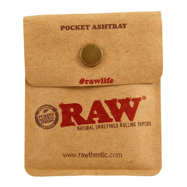 RAW Pocket Ashtray to go