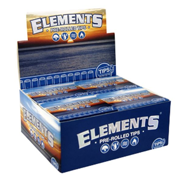 Elements Pre-Rolled Tips chlorfreie vorgerollte Filtertips