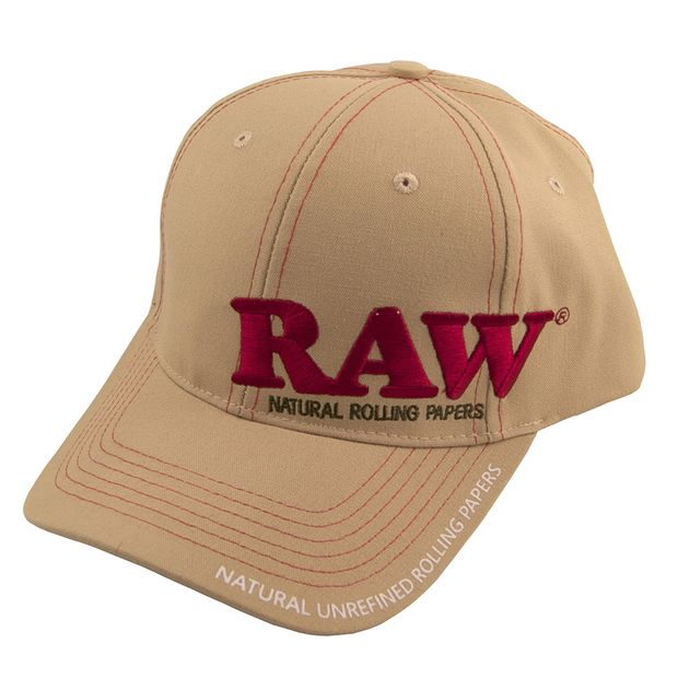RAW Cap Beige Embroidery and Print classic