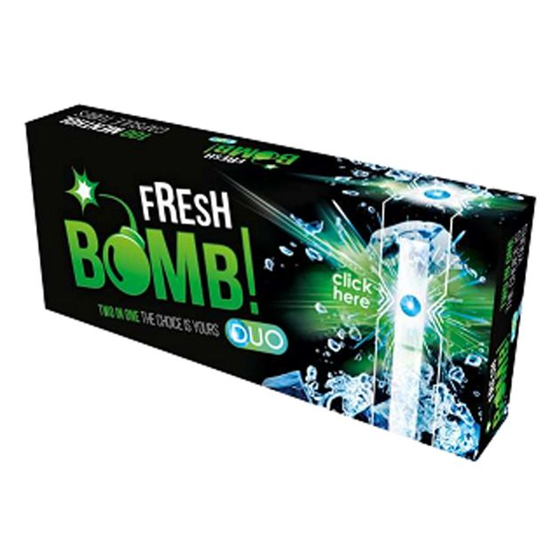Fresh Bomb Menthol Click Tubes with Aroma Capsule