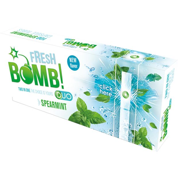Fresh Bomb Spearmint Click Tubes with Aroma Capsule