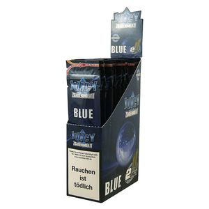 1 Box Juicy Jays Double Blunts BLUE (DE-Version)