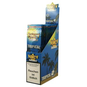 1 Box Juicy Jays Double Blunts TROPICAL (DE-Version)