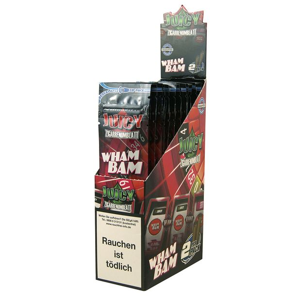 1 Box Juicy Jays Double Blunts WHAM BAM (DE-Version)
