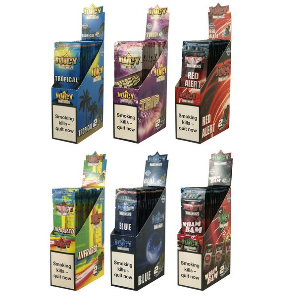 12 Boxes (600x) Juicy Jays Double Blunts (EU Version)