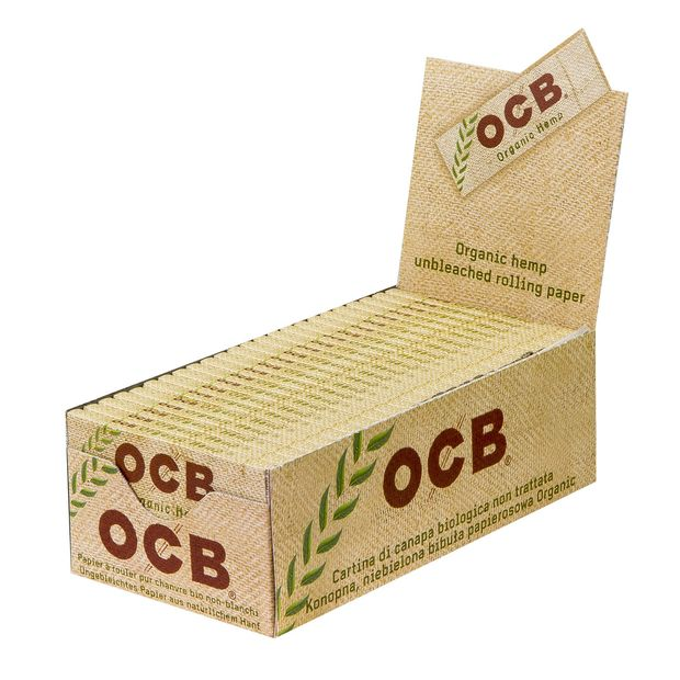 OCB Organic Hemp Regular Papers unbleached