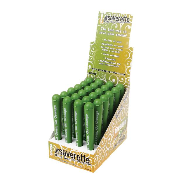 Greengo Saverette Plastic Tube King Size