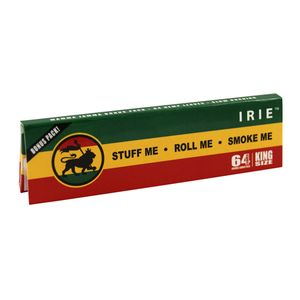 IRIE Rasta Papers King Size Extra leichte Hanfpapers...