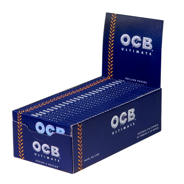 OCB Ultimate Regular kurzes ultradünnes Zigarettenpapier...