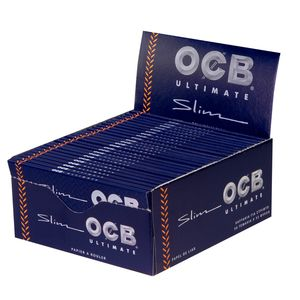 OCB Ultimate King Size Slim ultradünne Longpapers 3 Boxen...